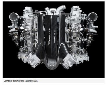 N°137 Maserati après la Fusion, de six soupapes par cylindre à l'électrique