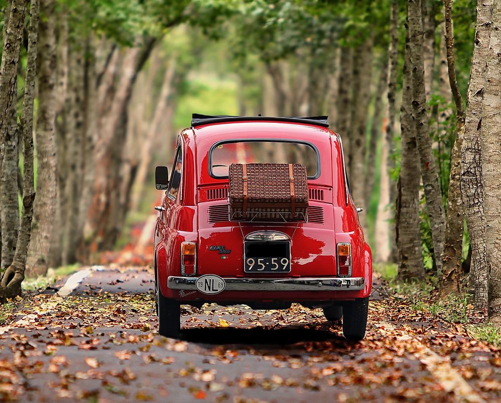 Partir en Vancance en Fiat 500