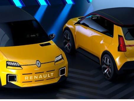 N°171 La Renault 5 électrique dévoilée et disponible avant 2025 concurrente de la Fiat500?