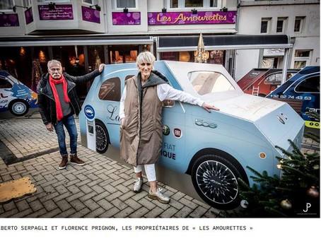 N°199 La Fiat 500 sauve un restaurant en période de Covid