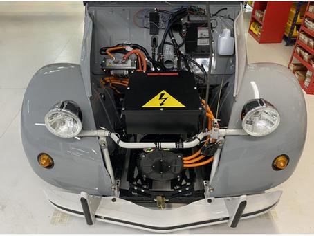 N°215-La 2CV électrique devient réalité grâce au kit R-Fit