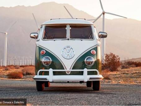 N°72 Retrofit:une tombola en ligne pour gagner un Combi Volkswagen électrifié par une batterie TESLA