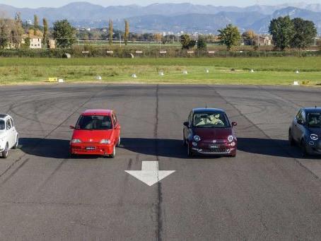 N°131 Fiat 500 contre 500 - Toutes les générations de 500 s'affrontent !