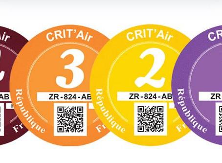 N°89 Lyon : Pour bénéficier du stationnement résident il faudra une vignette Crit'Air au 1er janvier