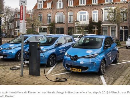 N°168- Bientôt, votre voiture électrique pourra alimenter votre maison -V2G
