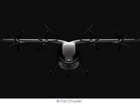 N°166 Fiat Chrysler s'allie à une start-up pour mettre au point un Taxi aérien électrique