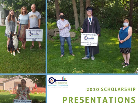 REALTORS® Charitable Foundation - 2020 Scholarship Recipients
