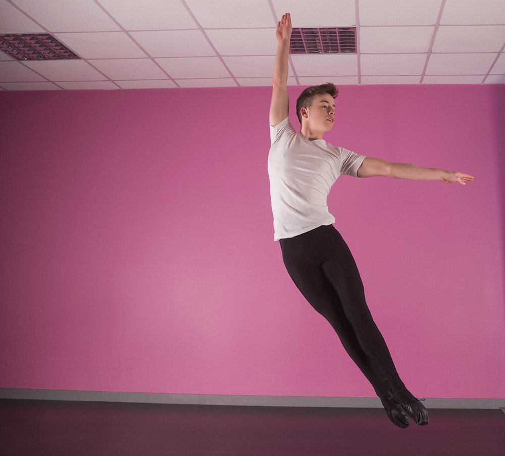 Ballet for boys is becoming more popular