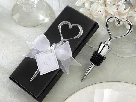 4 Wedding Favor Ideas