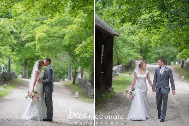 June outdoor wedding