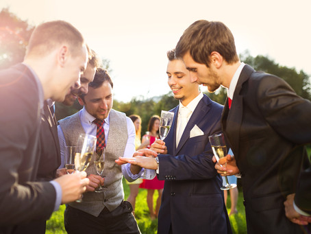 Engage the Groomsmen – Providing More Groom Time for You