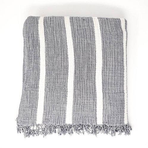 Olive & Loom Throw - Grey