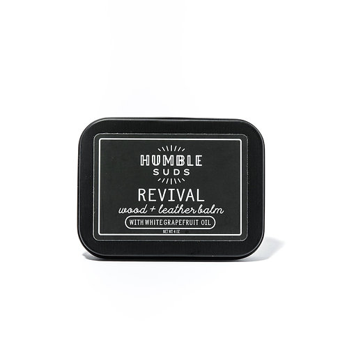 Humble Suds Revival Wood & Leather Balm