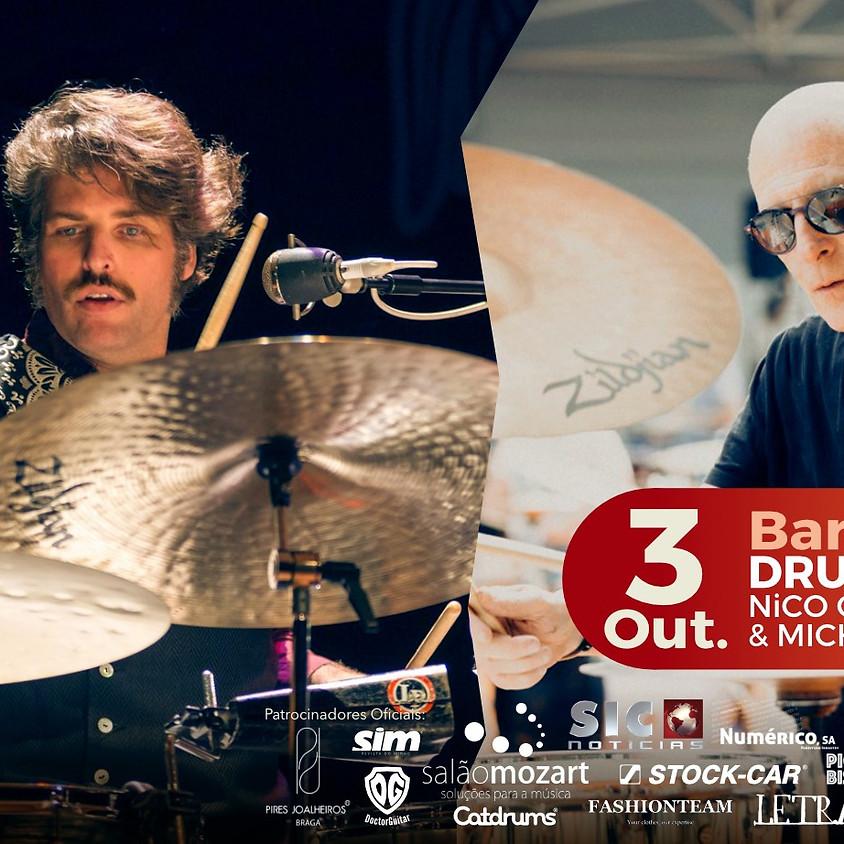 Drums & Blues - Michael Lauren (USA), Nico Guedes (PT)