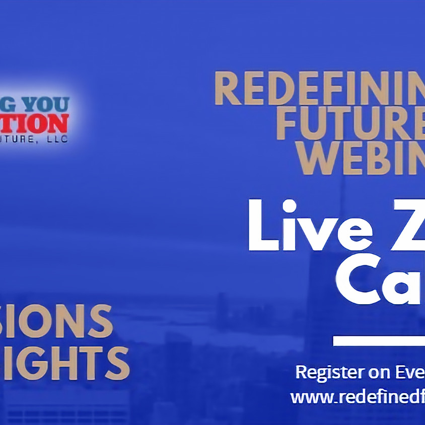 Redefining Your Future July Webinars: Men Transitioning out the Military