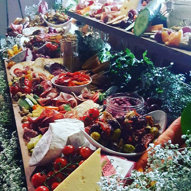 Anti-pasti as far as the eye can see. Yum.. our 2m 2 tier board at a recent function had the wow fac