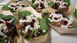 Shredded Lamb Salads