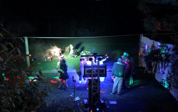Sound, Lights and Smoke machines
