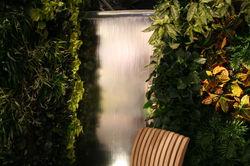 Glass Water Wall
