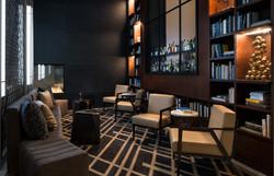 Jacquard Hotel_Lobby_Library
