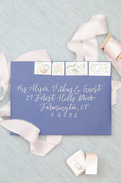 Fairytale Envelope Calligraphy