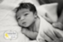 Home birth baby in Van Nuys, midwifery newborn exam.