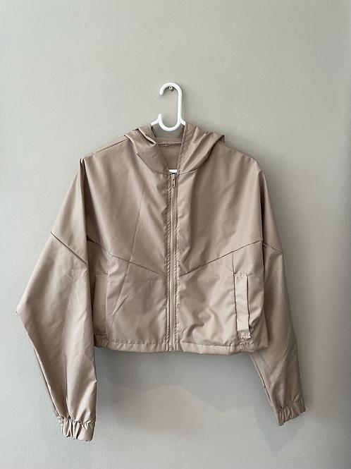 Cropped Rain jacket