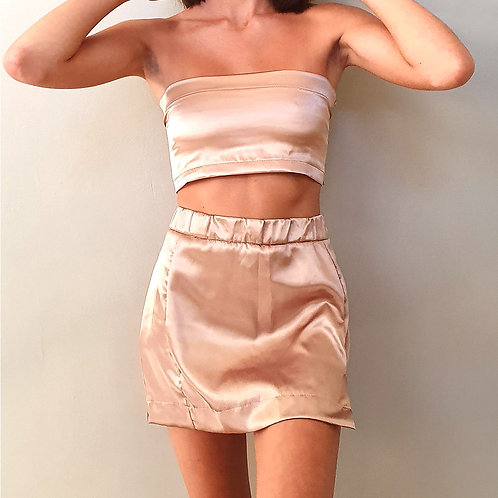 SATIN SET GOLD