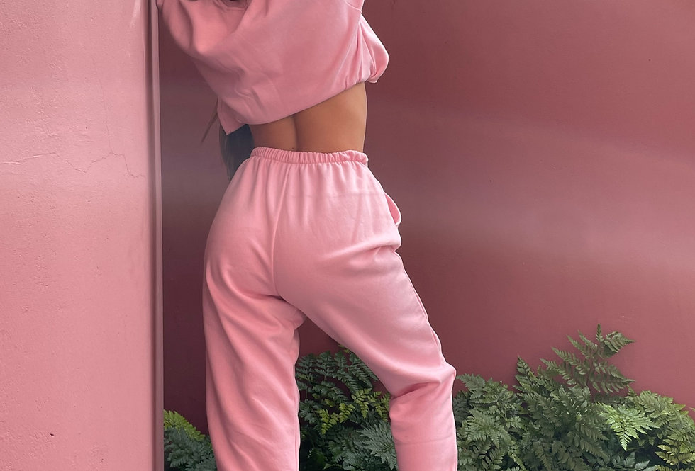 COTTON CANDY TRACK PANTS