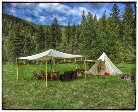 Pyramind tent