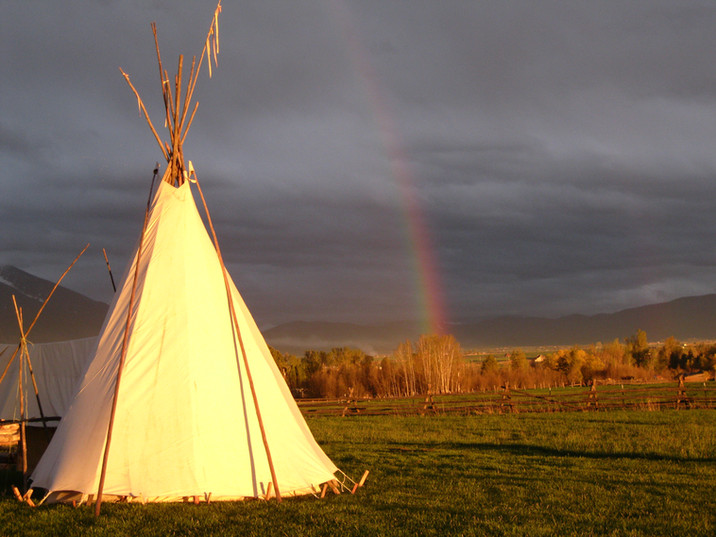 tipi w_rainbow Ft connah