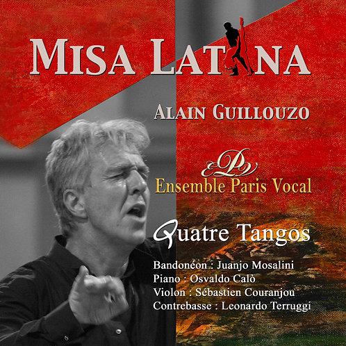 Album CD Misa Latina