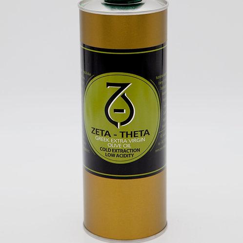 Zeta - Theta canned version - extra virgin olive oil