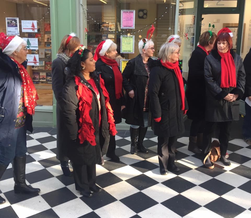 Letchworth Arcade, Christmas 2016