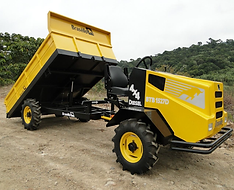 Tractor con Volvo elevadizo