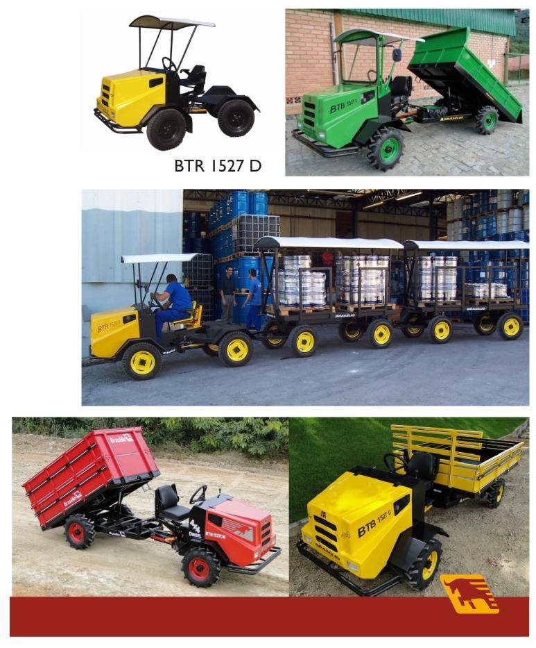 Tractores de Carga configurables de acuerdo a su necesidad