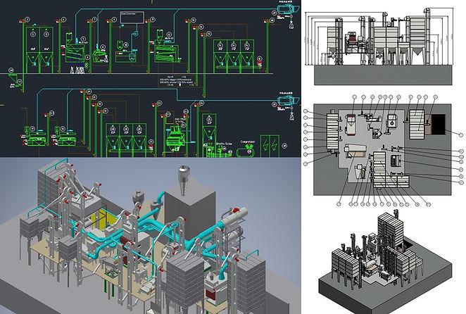 Design - Flowcharts - 3D plants