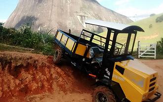 Transportador Braselio para terrenos dificiles