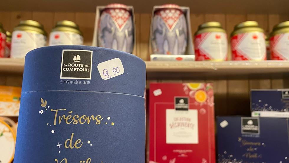 Les coffrets de thés de Noël