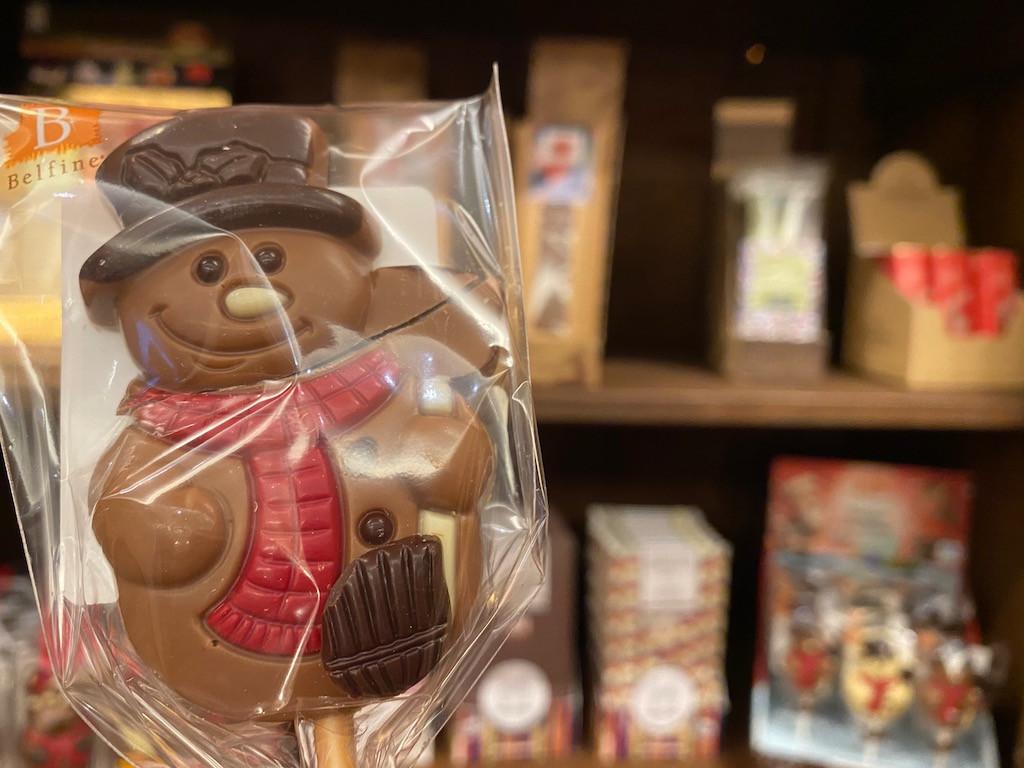 Des chocolats et sucreries