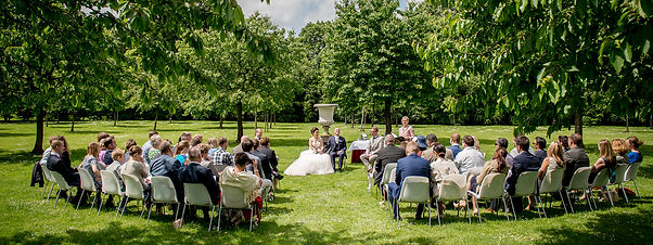 1b. outdoor wedding ceremony bruiloft ce