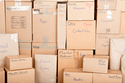 Packing is everything when it comes to self storage...