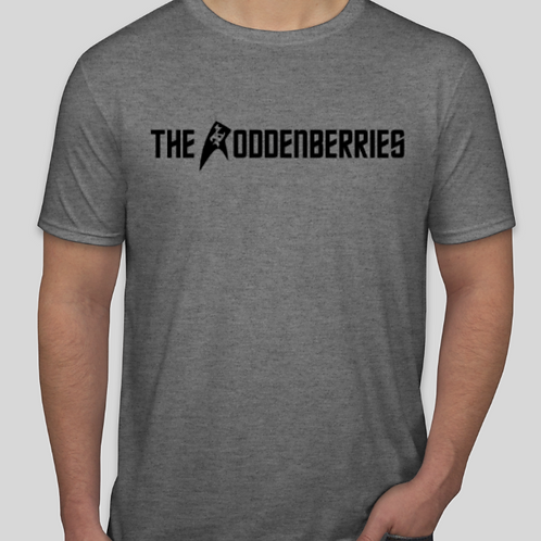Eat The Roddenberries Grey T-Shirt(limited quantity)