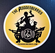 The Roddenberries 3' Sticker.jpg