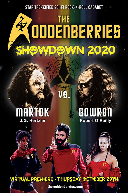 Showdown: 2020 Official 11x17 Poster