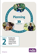 Cover of NDIS guide 2, Planning