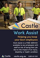 Castle Work Assist flyer
