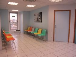 Salle d'Attente du Centre d'Urologie