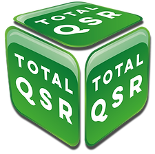 Total QSR Logo vector with drop shaddow.