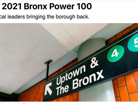 Southern Boulevard BID Treasurer and Executive Director Named on City & State NY 'Bronx Power 100'